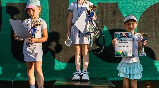Детский турнир по большому теннису US OPEN 2017